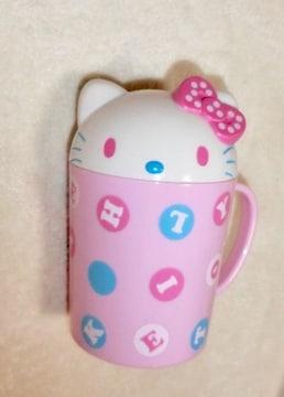 キティ☆ふた付きカップ