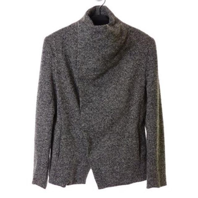 N/07 mixable tweed woven ラップジャケット 44  < 男性ファッションの