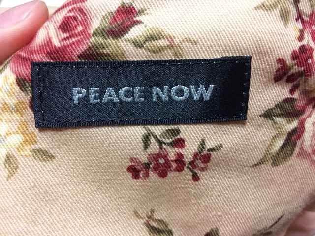 ローズ柄スカート/PEACE now  BPN < ブランドの