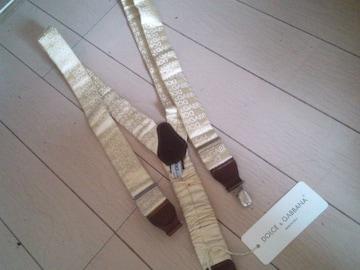 送料込 D&G サスペンダードルチェ&ガッバーナ