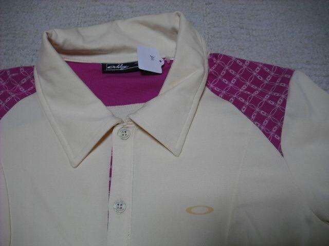 女 OAKLEY オークリー 半袖ポロシャツ S < ブランドの