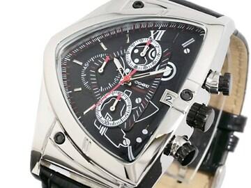 コグ 腕時計自動巻 クロノC43-BK