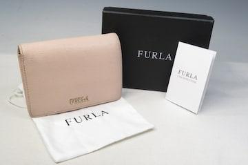 FURLA フルラ 二つ折り財布 ライトベージュ  箱あり