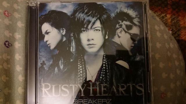 BREAKERZ「RUSTY HEARTS」初回DVD付/DAIGO  < タレントグッズの
