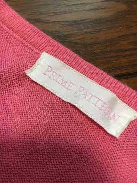 【即決】PRIME PATTENE◆パフスリ&鍵編◆スイートサマーニット < 女性ファッションの