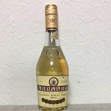 本物 北朝鮮産XO最高級40年朝鮮人参漬け古酒 滋養強壮 喜び組