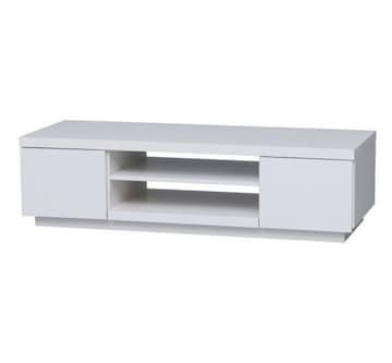 テレビ台 薄型 ローボード ボックス オフホワイト