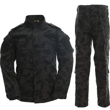 特殊部隊 迷彩服 サバゲー マルチカム 作業服 上下セット L