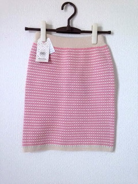 定価4990円 ダズリン■ピンク タイト 台形 スカート M