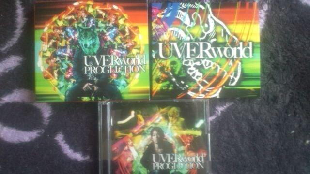 激安!超レア!☆UVERworld/PROGLUTION☆初回限定盤/CD+DVD超美品! < タレントグッズの