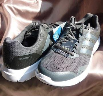 新品●定価5940円 adidasDuramo 7 黒 27cm