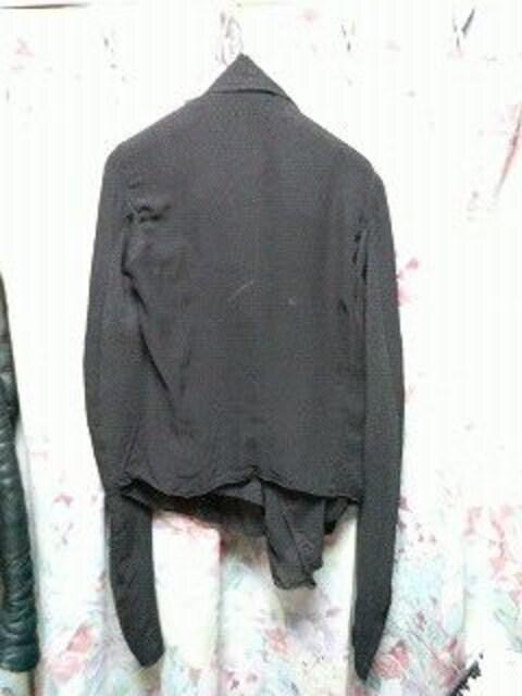 リックオウエンスrickowensライダースジャケットドレープ < 女性ファッションの