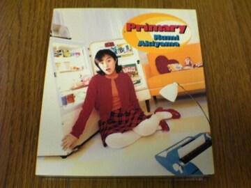 秋山久美CD プライマリーPrimary初回版