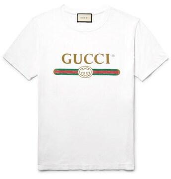 ◆GUCCI◆ロゴTシャツ◆M◆即決◆付属品完備◆送料無料◆