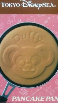 TDS ダッフィー パンケーキパン 未使用箱入 ピンク バレンタイン直径16�p