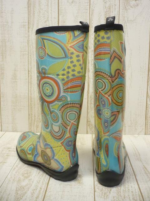 即決☆カミック レインブーツ ボヘミア GN/24cm カナダ製 長靴 新品 < 女性ファッションの