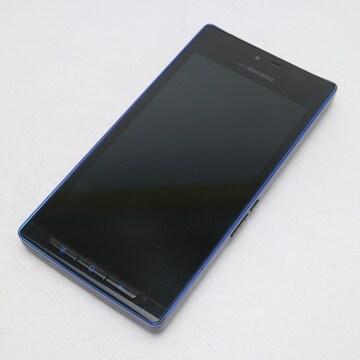 ●安心保証●美品●SH-06D AQUOS PHONE ブルーブラック●
