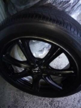1本5000円タイヤ付き215/55R17マナレイアルミホイール5穴PCD114.3