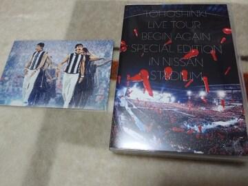 *東方神起☆LIVE TOUR〜Begin Again〜日産スタジアムDVD★通常盤♪