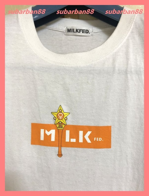 ☆ミルクフェド☆超美品☆完売セーラームーンコラボTシャツ☆ < ブランドの