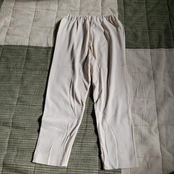 130cm 部屋着 肌着 七分丈 パンツ ズボン