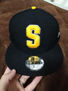 STUSSY NEW ERA 59FIFTY BLACK CAP ステューシーニューエラ