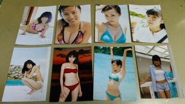 ★小島るり子★L版フォト写真・8枚セット。