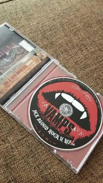 VAMPS/SEX BLOOD ROCK'N ROLL L'Arc〜en〜Ciel < タレントグッズの