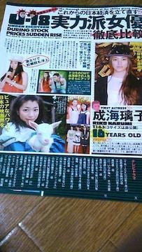 ☆成海璃子雑誌からの切り抜き