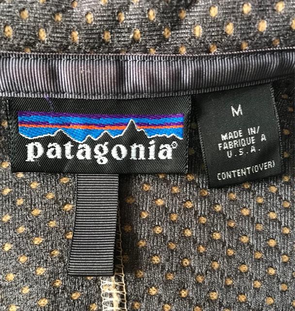 パタゴニア  レトロカーディガン ナチュラル 90年代 USA製 < ブランドの