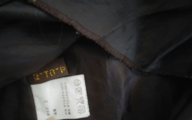 a★TO★P ブラウン 美品 サイズ2 < 女性ファッションの