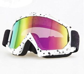 スキー スノボ ゴーグル クリアーレンズ 2