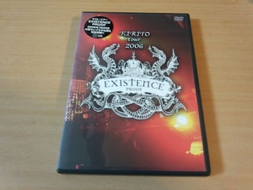 キリトDVD「KIRITO TOUR 2006 EXISTENCE PROOF」PIERROT●