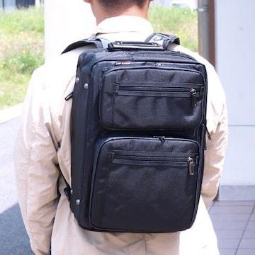 【GERMANE GEAR】☆3WAYビジネス自転車通勤応援BAG 黒 送料無