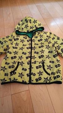 ベビードール BABYDOLL アウター ジャケット 黄色系 総柄 120