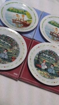 世界名作劇場赤毛のアン デザインプレート皿4枚セット