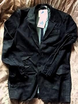 新品リーバイス テーラードジャケット濃紺コーティング コットン
