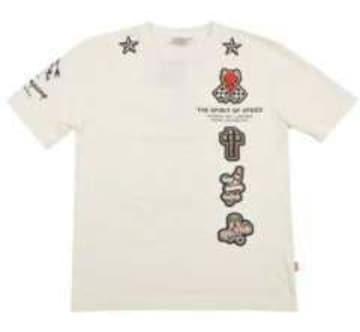 新作テッドマン/スペシャル半袖Tシャツ/白S/TDSS-406/エフ商会/東洋
