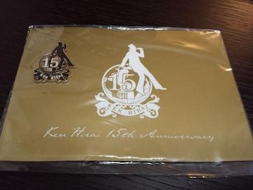 ★新品★平井 堅★15周年記念ピンバッチ★