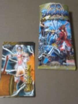 ◆戦国バサラ/ステッカー/いつき・ザビー