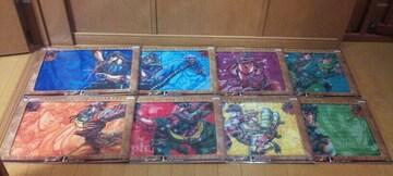 一番くじ ジョジョの奇妙な冒険 Part1~3 I賞 ビジュアルマット 全8種セット