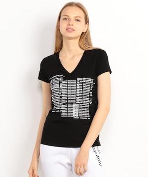 タグ付き新品/アルマーニエクスチェンジロゴ半袖Tシャツトップス