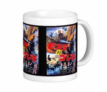 『 モスラ対ゴジラ 』のポスターのマグカップ