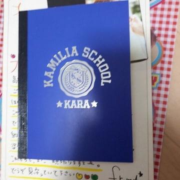 送料込み☆KARA. KAMILIA SCHOOL