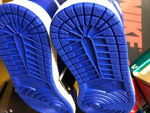 新品!レア! エアジョーダン1 青/白 29 Nike AIRJORDAN1 < ブランドの
