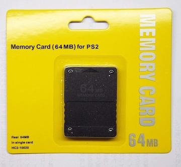 PS2 プレステ2 プレイステーション2 メモリーカード(64MB)