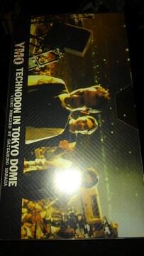 VHSビデオソフト YMO TECHNODON IN TOKYO DOME 未開封品 レア
