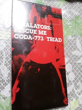ESCALATORS↑RESCUEME☆CODA773〇TRIAD*CDシングル美品◇