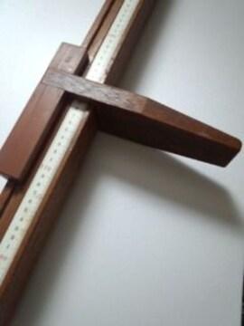 身長計 木製ビンテージ