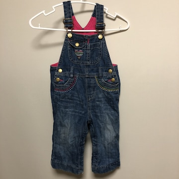 送料込み☆ キッズ Baby Gap サロペット 80